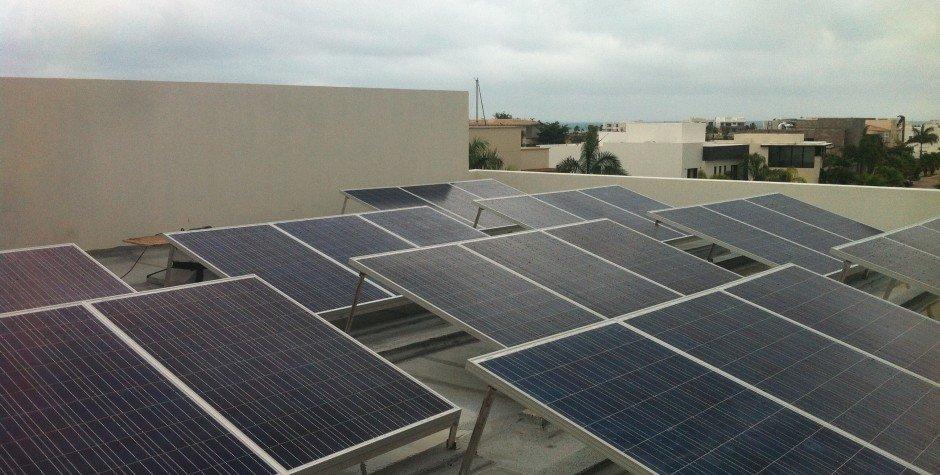 instalacion de paneles solares azotea